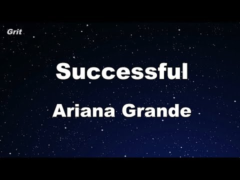 Successful - Ariana Grande Karaoke 【No Guide Melody】 Instrumental