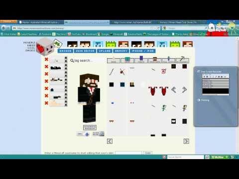 Minecraft Skin CreatorEditor MSW - Baixar skins para minecraft 1 8