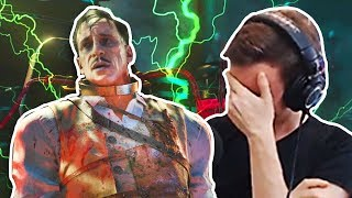 BLOOD OF THE DEAD SPECIAL RICHTOFEN EASTER EGG ENDING & REACTION (Black Ops 4 Zombies Cutscene)