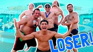 Lost in WORLD'S SEXIEST MAN Contest!