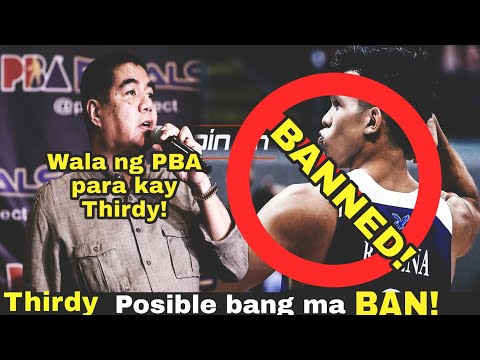 GOODBYE PBA! Thirdy Ravena BANNED Kung Hindi Papasok sa ROOKIE DRAFT | PBA NEWS UPDATES