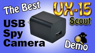 The Best USB Spy Camera In The World: 2017 UX-7 ScoutOut