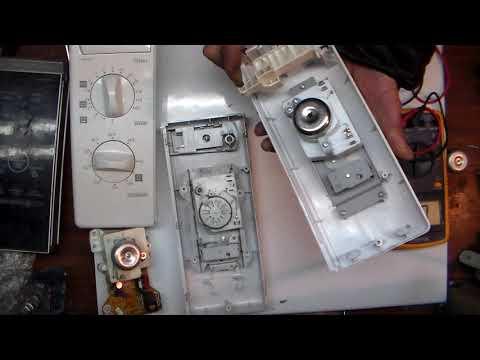 Диагностика и ремонт панели управления микроволновки часть 1