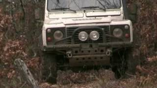 Land Rover eXtreme Club of Greece Winter 2009 Pindos Part 1