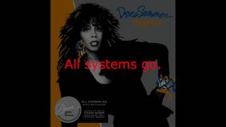 "Donna Summer - All Systems Go (LP Version) LYRICS SHM ""All Systems Go"" 1987"