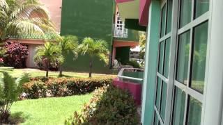 preview picture of video 'Barcelo Solymar Varadero Cuba вид с балкона'