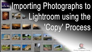 New Video - Importing into Lightroom #1