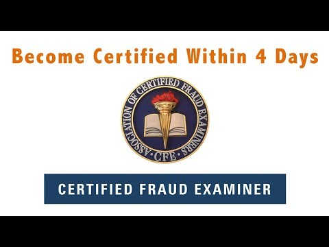 Certified Fraud Examiner (CFE) Exam Review Course - YouTube
