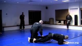 preview picture of video 'How to use Ninjutsu moguri for inside range to single leg - AKBAN Ninjutsu training'