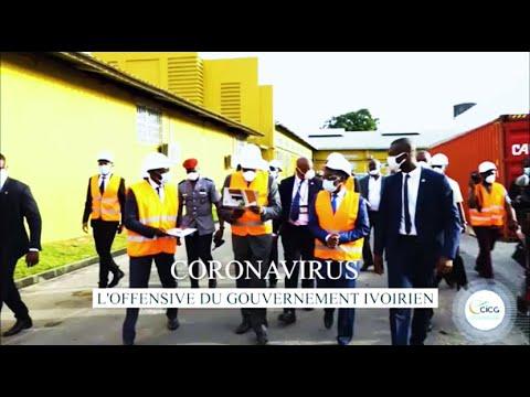 CORONAVIRUS : L'OFFENSIVE DU GOUVERNEMENT IVOIRIEN