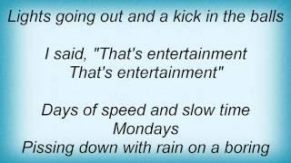 Billy Bragg - That's Entertainment Lyrics_1