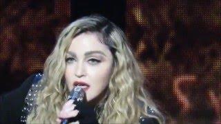 Madonna Addresses The Australian Crowd   Melbourne 12 March 2016