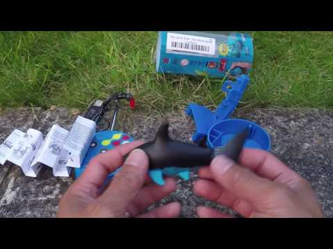 eMart Mini RC Toy Fish Shark Unboxing and Mini Review