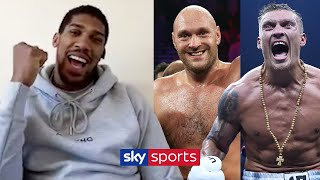 Anthony Joshua names the SIX fighters he wants to face before he retires 👊| Doing The Rounds