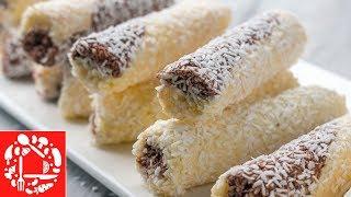 Десерт без выпечки за 15 минут! 😜👍 Кокосовое наслаждение!