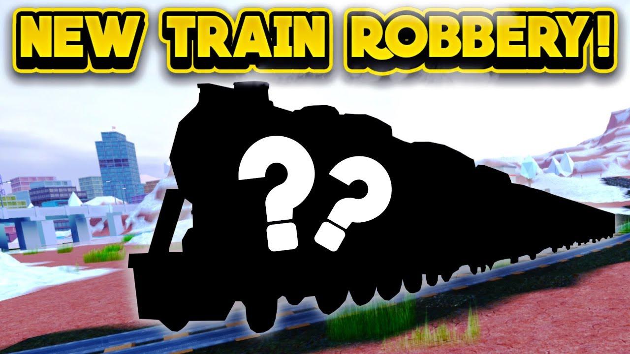 NEW TRAIN ROBBERY NEXT UPDATE! (ROBLOX Jailbreak) - NapkinNate