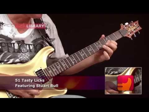 51 Tasty Guitar Licks You Must Learn | Guitar Lessons With Stuart Bull Licklibrary
