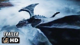 """GAME OF THRONES Season 8 Official Teaser Trailer """"Fire and Ice"""" (HD) Emilia Clarke Series"""