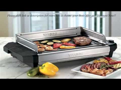 Waring Pro CIG100 Professional 1800 Watt Cast Iron Grill REVIEW