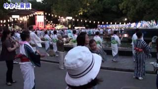 盆踊り曲のメドレー 2010年版 (日比谷公園・大盆踊り大会 100821)