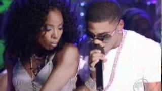 kelly rowland & nelly - dilemma (live @ patti labelle tribute).mpg