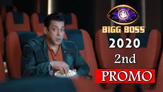 Bigg Boss 14 : Salman Khan Watching Movie In Theater | BB14 2nd Promo Out Now