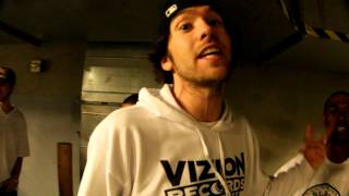 ViZION FREESTYLE CYPHER After Our Show @ House Of Blues (Parking Garage)