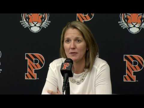 Princeton Basketball Media Day 2016 - Courtney Banghart