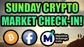 Sunday Crypto Market Check In! PLUS: Machine Xchange Coin Review [MXC ]
