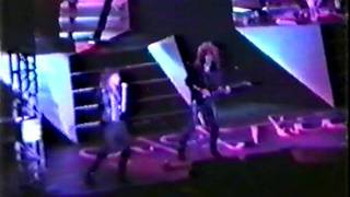 Europe live in Barcelona, Spain 17 or 18-02-1989