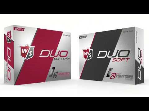 Wilson Staff DUO Soft Golf Ball Comparison