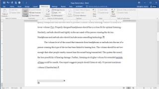 Microsoft Word 2016 - Adding a Footnote