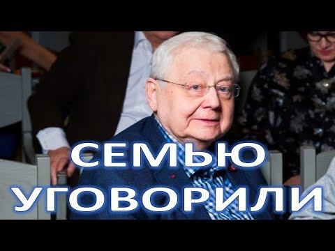 Семью уговорили не тратиться на похороны Табакова  (13.03.2018)