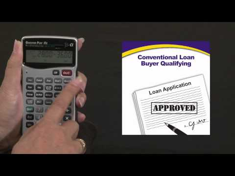 Qualifier Plus IIIfx - Buyer Qualifying Conventional Loan