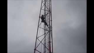 Mycie wieży GSM