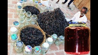 100 KG Grape wine making my Daddy ARUMUGAM / Village food factory