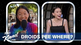 Star Wars Cast Answers Questions From Kids