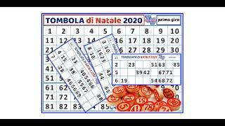 'TOMBOLATA DI NATALE 2020' episoode image