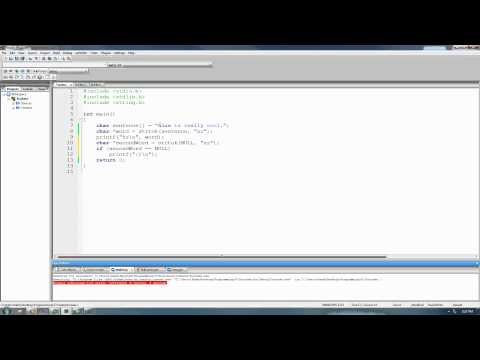 C Programming Tutorial 56, String Functions pt.7