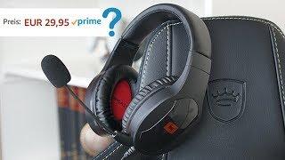 Bestes Mikrofon für kleinen Preis! HEADSET FÜR UNTER 30€ - LX20 Gaming Headset von Lioncast