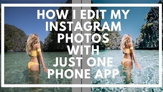 MOBILE PRESETS - BEAUTIFUL IG FEED WITH ONLY ONE APP!  | Travel in Her Shoes |