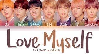 Gambar cover BTS (방탄소년단) - Answer: Love Myself (Color Coded Lyrics Eng/Rom/Han/가사)