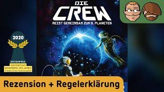 Die Crew (Kennerspiel des Jahres 2020) - Brettspiel - Review und Regelerklärung