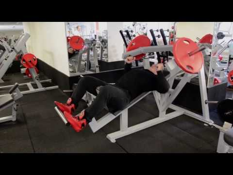 A2XX Incline Chest Press Plate Loaded