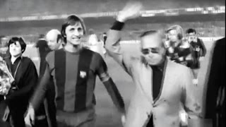 1975 Barcelona Vs Real Madrid (2-1) - Cruyff Del Bosque Pirri Neeskens Rexach El Clásico
