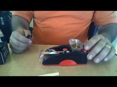 Como Hacer un cigarrillo con maquina ELectronica