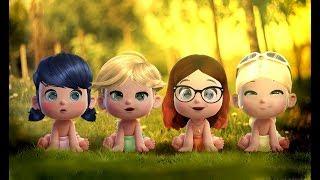 Miraculous Ladybug Speededit: Babies-heroes
