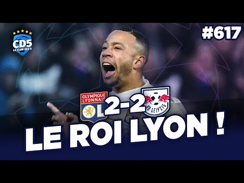 Lyon vs Leipzig (2-2) LIGUE DES CHAMPIONS - Débrief / Replay #617 - #CD5