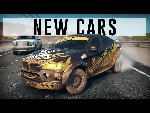 Need For Speed Payback Charging Across The Desert In An Off Road