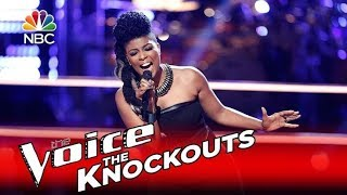 The Voice 2016 Knockout - Courtney Harrell- 'River Deep, Mountain High'